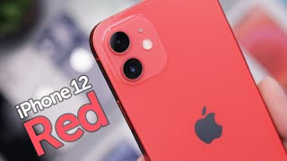 Red iPhone 12 Unboxing & First Impressions!