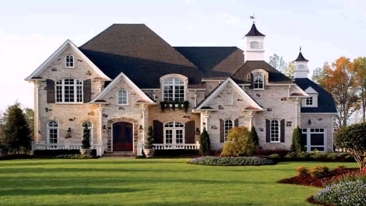 Modern European Style House Youtube European Home Designs