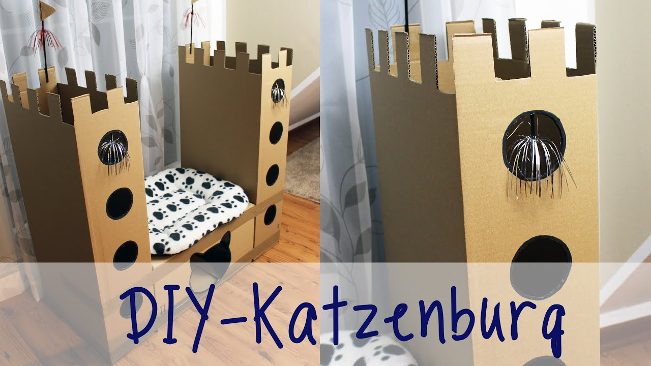 julia 39 s tillishop diy 39 s katzenburg katzenschloss meine mietzen youtube. Black Bedroom Furniture Sets. Home Design Ideas