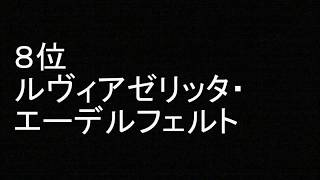 「Fate/kaleid liner プリズマ☆イリヤ」 好きなキャラクター ランキング ルヴィアゼリッタ・エーデルフェルト 検索動画 50