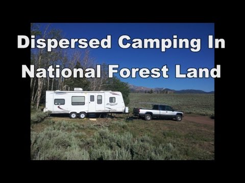 Dispersed Camping In National Forest Land - FREE Campsites!