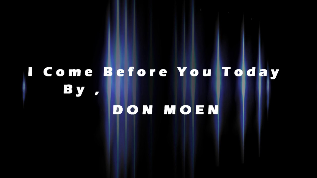 Thank you Lord by Don Moen with lyrics - YouTube