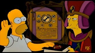 The Simpsons: Homer joins a secret Society [Clip]