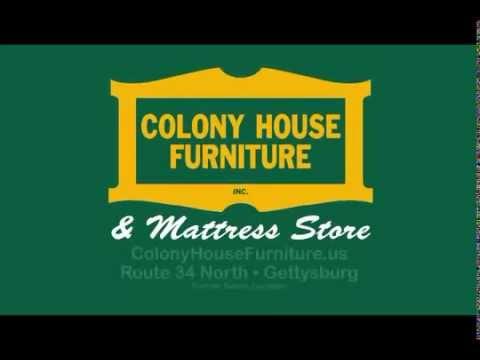 Colony House Furniture Chambersburg Pa Model colony house furniture gettysburg pa 17325  youtube