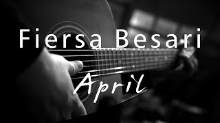 Fiersa Besari - April ( Acoustic Karaoke )