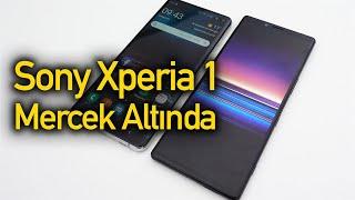 Sony Xperia - 4K OLED ekranlı telefon | Sony Xperia 1 ön inceleme
