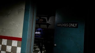 DO NOT HACK INTO THE EMPLOYEES ONLY ROOM!   Five Nights At Freddy's VR: Help Wanted Secrets