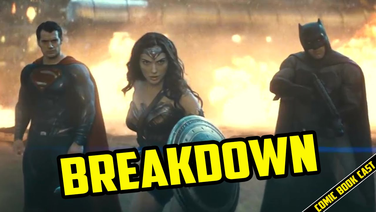Batman V Superman Trailer 2 BREAKDOWN