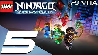 Lego Ninjago Shadow of Ronin Walkthrough 1080p on PS VITA / PS TV E...