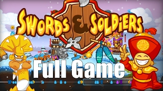 Swords & Soldiers FULL GAME Walkthrough Gameplay All Campaigns