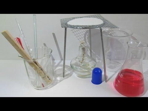 Лабораторное оборудование и стекло. [ChemistryToday]