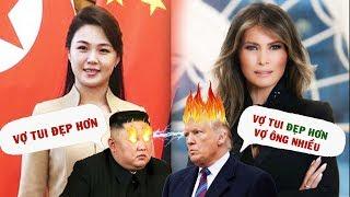 Đọ Nhan Sắc Đệ Nhất Phu Nhân Của Tổng Thống Donald Trump Và Kim Jong Un | Gia Đình Việt