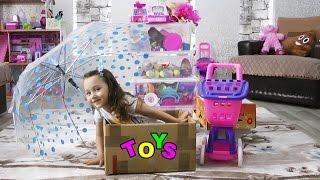 Marketçilik Oyuncak Alışverişi - Çocuk Oyunu Cici Kız Öykü