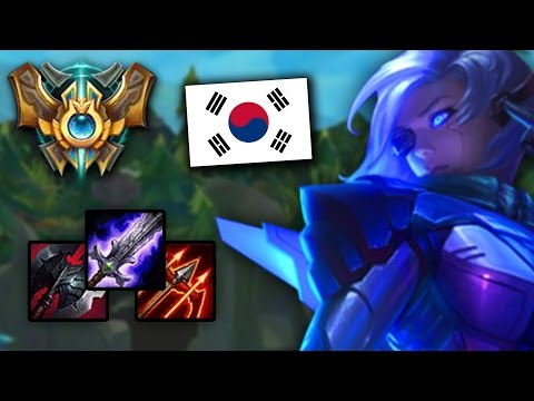 The NEW CHALLENGER KOREAN ASHE BUILD – BLADE, CLEAVER, RUNAANS? (League of Legends)