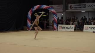 Художественная гимнастика/Метелица 2017/Алина Каткова Обруч