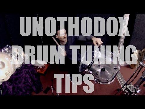 Unorthodox Drum Tuning Tips