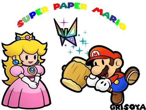 Let´s Play Super Paper Mario #01 Peaches Hochzeit ?