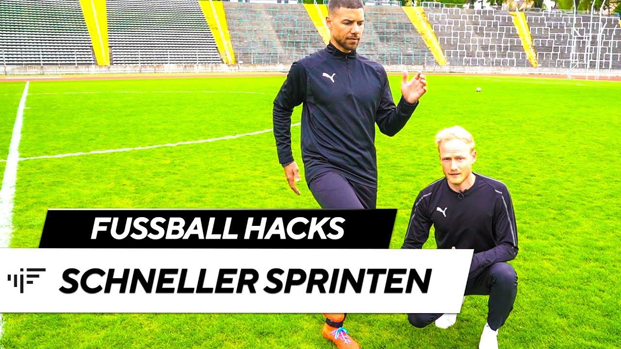 Schneller Sprinten Fussball
