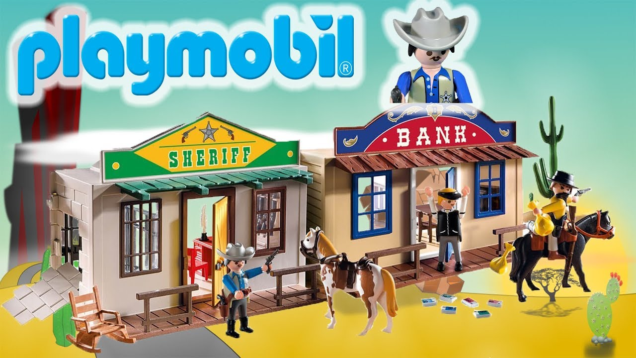 Playmobil Western Bank