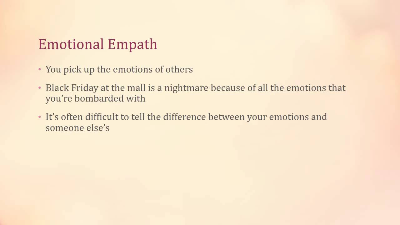 Being Different Quotes Five Types of Empaths ...