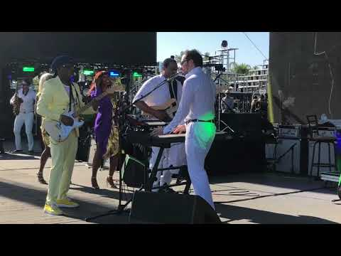 """Nile Rodgers & CHIC Coachella April 14, 2018 """"Get Lucky"""""""