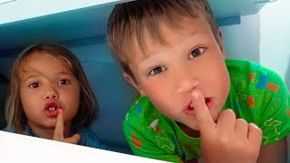Hide and seek song witk Katy and Max | Nursery Rhymes for children