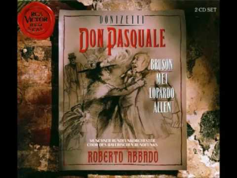 Don Pasquale Donizetti  –  Patrick O'Connor Record Review October 2003
