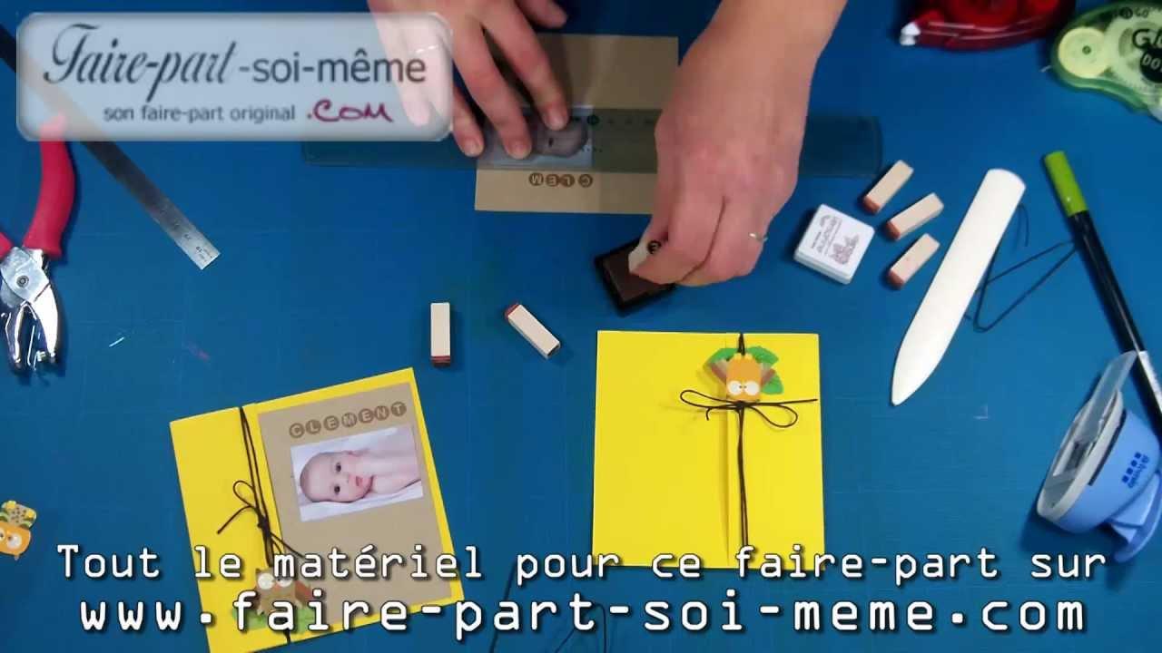 Faire Part De Naissance Chouette