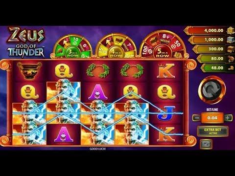 Spiele Zeus God Of Thunder - Video Slots Online