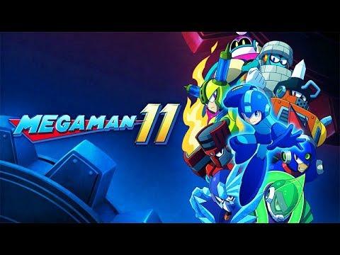 MEGA MAN 11 All Boss Battles (Xbox One X Enhanced) 60FPS