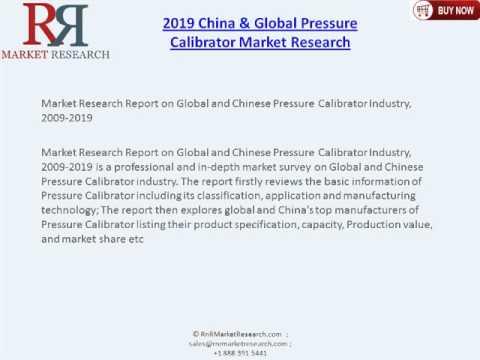 Market Report on World & China Pressure Calibrator 2019