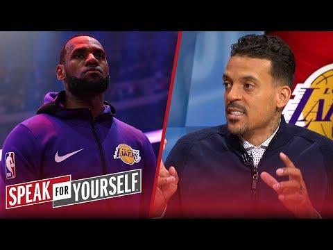 Matt Barnes doesn't think Lakers' failed season impacts LeBron's legacy | NBA | SPEAK FOR YOURSELF thumbnail