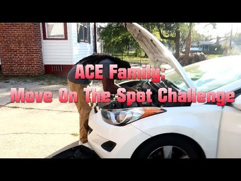 ACE Family: Move on the spot challenge!
