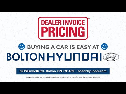 Dealer Invoice Pricing At Bolton Hyundai YouTube - Acura mdx dealer invoice