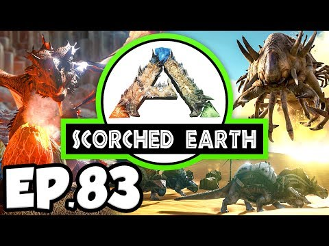 ARK: Scorched Earth Ep.83 - SWEET VEGETABLE CAKE & INDUSTRIAL GRILL!!! (Modded Dinosaurs Gameplay)
