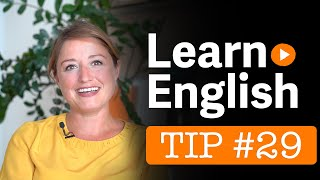 Learn English - EC's 101 Tips - Tip no. 29