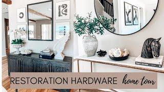 RESTORATION HARDWARE Home tour - 2020