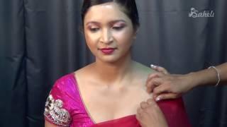 Indian Bridal Makeup | Silver Makeup