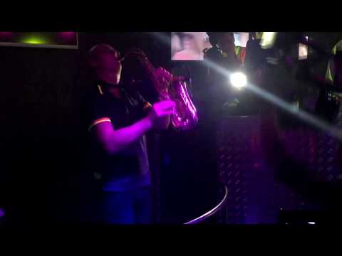 """Saxophone vs Imany - Don't be shy (Live record from """"Best Club"""" Wrzesnia Poland)"""
