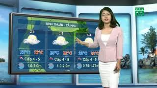 VTC14 | Thời tiết biển 01/04/2018 | Trung Bộ, thời tiết duy trì ổn định trong đêm nay và ngày mai