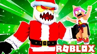 ESCAPE FROM EVIL SANTA AT CHRISTMAS! 🎅 Roblox