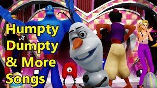 Humpty Dumpty Song & More Songs | Kids Songs | Nursery Rhymes | Baby Songs | Children Songs