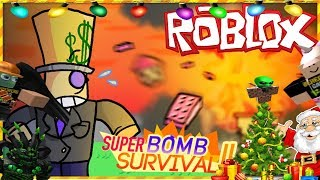 """The FGN Crew Plays: ROBLOX """"Super Bomb Survival Christmas Edition"""""""