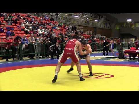 2014 Junior National Championships: 84 kg Bronze Jacob Luczak vs. Grayson St. Laurent