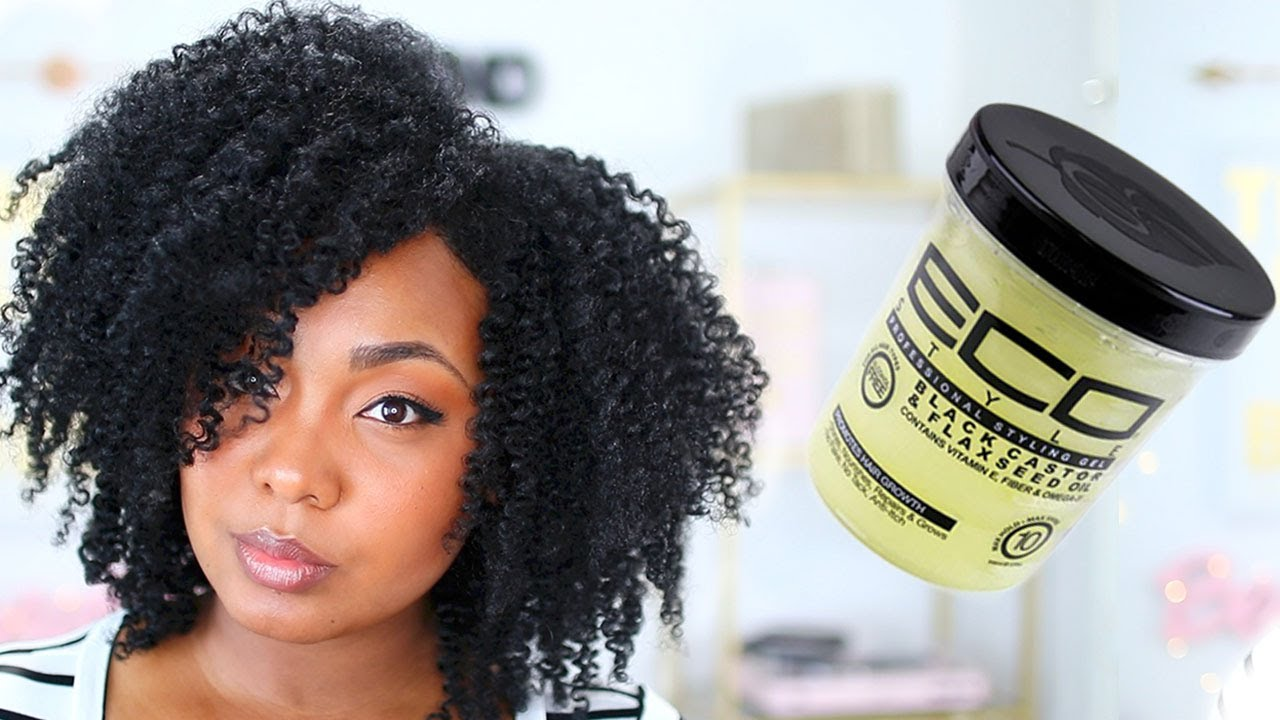 gel for hair styles defined twist out w black castor amp flaxseed ecostyler 4114