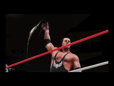 WWE 2K19 Battle Royal Bret Hart vs HBK vs Undertaker vs ... Ultimate Warrior Undertaker Bossman