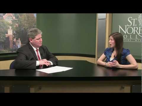 """""""Conversations from St. Norbert College"""" featuring Rebecca McKean (Geology)"""