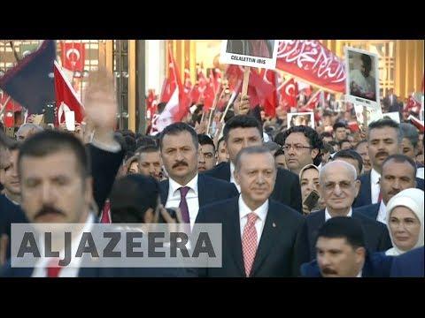 Mass rallies across Turkey mark 2016 failed coup
