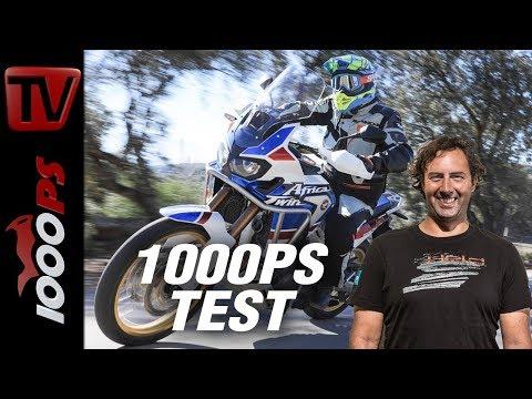 1000PS Test - Honda CRF1000L Africa Twin Adventure Sports