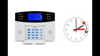 Alarmes 99 RTC :  réglage de l'heure et minutes